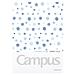 国誉 Campus水彩絮语分类文件夹 (蓝) A4  WSG-FUD810B