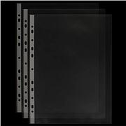 易优百 活页文件保护袋 (透明) A4 11孔 50个/包  EH303A-6
