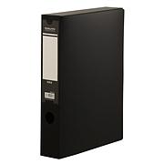 國譽 粘扣檔案盒 (黑) A4  EB0910D