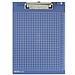 得力 書寫板夾 (深藍) A4  9240