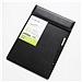 康百 皮質磁性板夾 (黑) A4  D5001