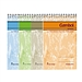 渡邊 螺旋裝訂本 (混色) A7/50頁  WCN-SA7503