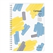 國譽 2022年Campus PP面軟線圈手帳日程本(月計劃) (藍黃) B6/80頁  NI-SMNL2-B6-22