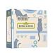 国誉 文具猫易抽取标签(带盒) (文具猫图案) 35*15mm  WSG-LA2MR1