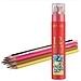 晨光 水溶性彩色铅笔PP筒装 (彩色) 12支/筒  AWP36809