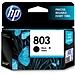 惠普 803号打印机墨盒 (黑) 经济适用装  3YP42AA