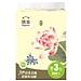 洁云 福瑞国色系统2层200抽袋装抽取式面巾纸 3包/提  162218