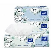 得寶 抽取式面巾紙茉莉花味 4層*90抽/包 3包/提  T2281