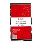 易优百 垃圾袋 (黑色) 45*55cm 30只/卷 5卷/包