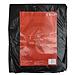 易优百 折叠平底式大型垃圾袋 (黑) 100*120cm 10只/包
