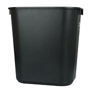 乐柏美 中型垃圾桶 (黑) 26.6L  FG295600BLA