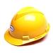 安吉安 安全帽 (黃)  20型