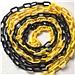 護善 路錐鏈條 (黃黑) 25m