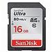闪迪 至尊高速SDXC UHS-I存储卡 (Class10)16GB  (读速80Mb/s)
