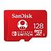 闪迪 TF 内存卡 (红色) 128GB  QXAO