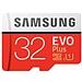 三星 高速MicroSD(TF)存储卡 (红色) 32G(Class10)  读速95Mb/s
