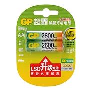 超霸 5号充电电池(1000次) 5号 2600mAh  GP260AAHC-2IL2