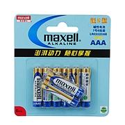 麦克赛尔 7号碱性电池(促销装) 7号  LR03(GD)6B+2