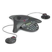 寶利通 音頻會議系統電話機 (黑)  SOUNDSTATION 2EX擴展型