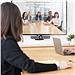 羅技 商務高清視頻會議系統 攝像頭 (黑色) 4K高清  CC4000e