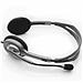 羅技 立體聲耳機 帶麥克風話筒 (黑色)  H111