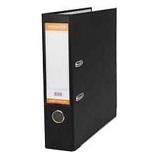 国誉 半包胶档案夹 (黑) A4/3寸  W-FUAL290D