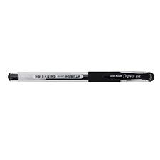 三菱铅笔 细尖防水双珠啫哩笔量贩 (黑) 10支/盒 0.38mm  UM-151