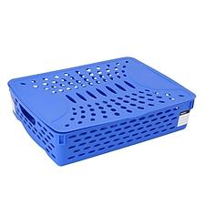 得力 公文篮 (蓝)  923