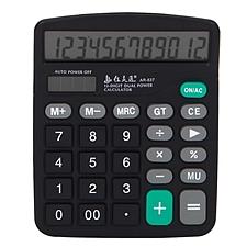 佳灵通 计算器 (黑色) 12位 中型  AR-837