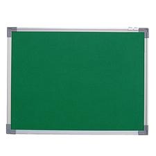 诚信鑫 孤铝包布软木板 (绿) 1200*900mm