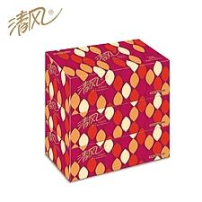 清风 盒装面巾纸 200抽(双层)  B338AFD