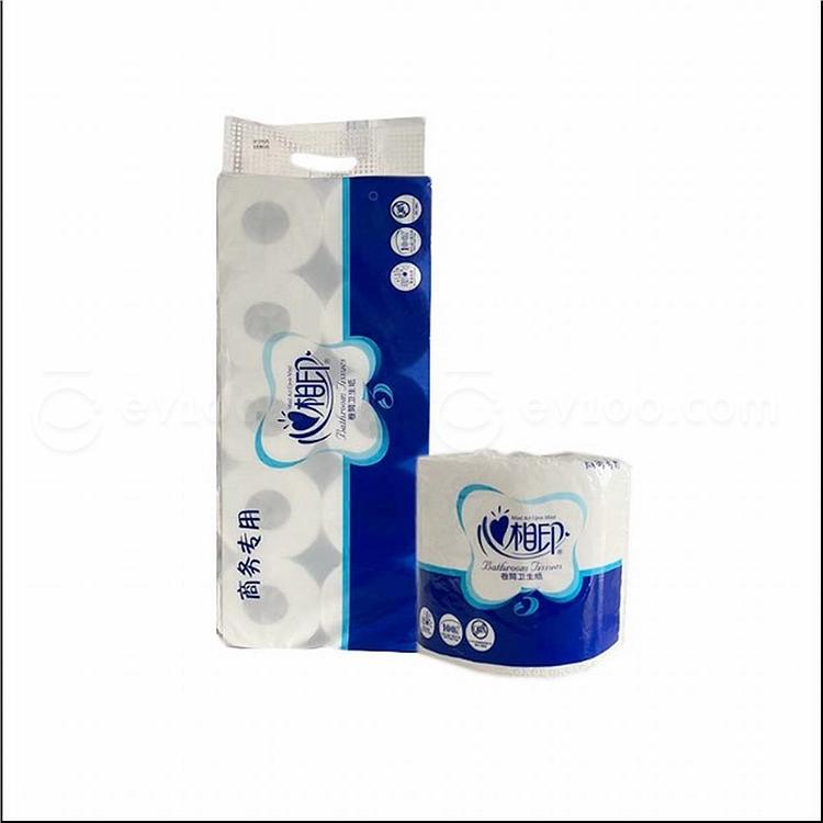 心相印 绿色系列卷筒卫生纸量贩 (绿色) 115g(双层)  BT115