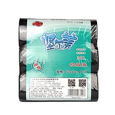 坚尔美 垃圾袋 (黑色) 500*600mm  67947