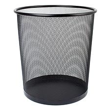 敏胤 中号垃圾桶 (黑) 中号  L5002