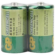 超霸 1號碳性電池 1號  GP13G BJ2