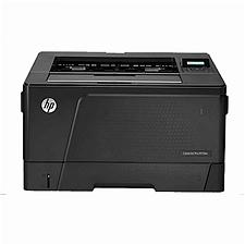 惠普 黑白激光打印机 (黑) A3幅面+单纸盒  M706DN