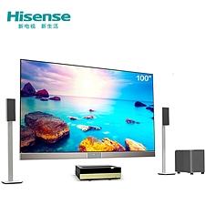 海信 激光影院 配置5.1声道音响 100吋  LT100K7900A