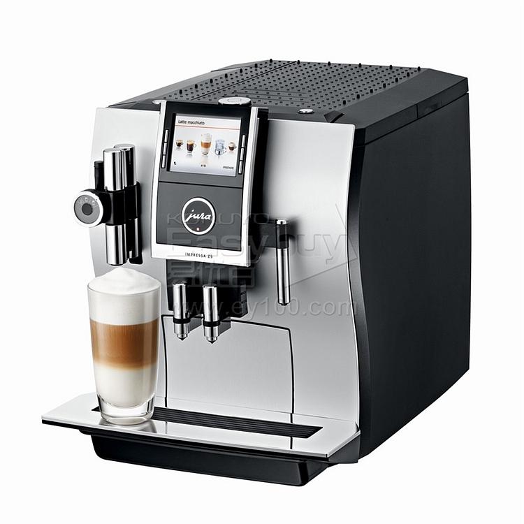 优瑞 Jura原装进口全自动商用咖啡机 (银)  Impressa Z9 TFT
