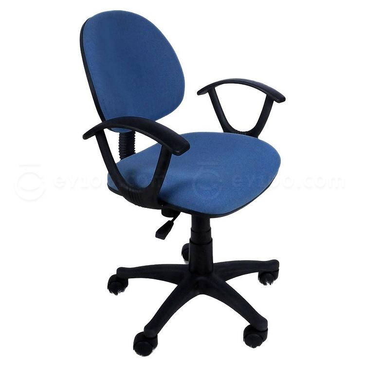 吴俚 电脑椅 (蓝) 490W*470D*790-890H(mm)  YT-8089B
