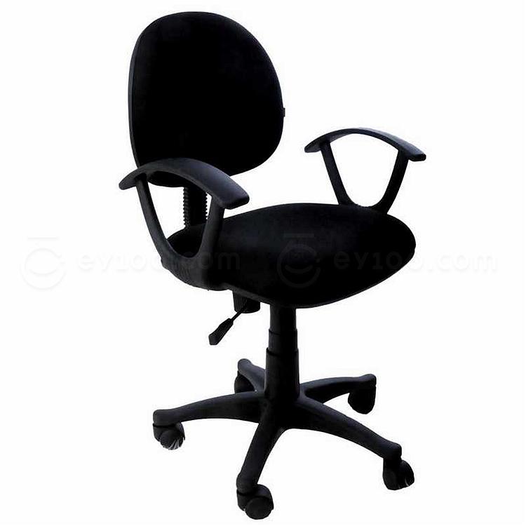 吴俚 电脑椅 (黑) 490W*470D*790-890H(mm)  YT-8089B