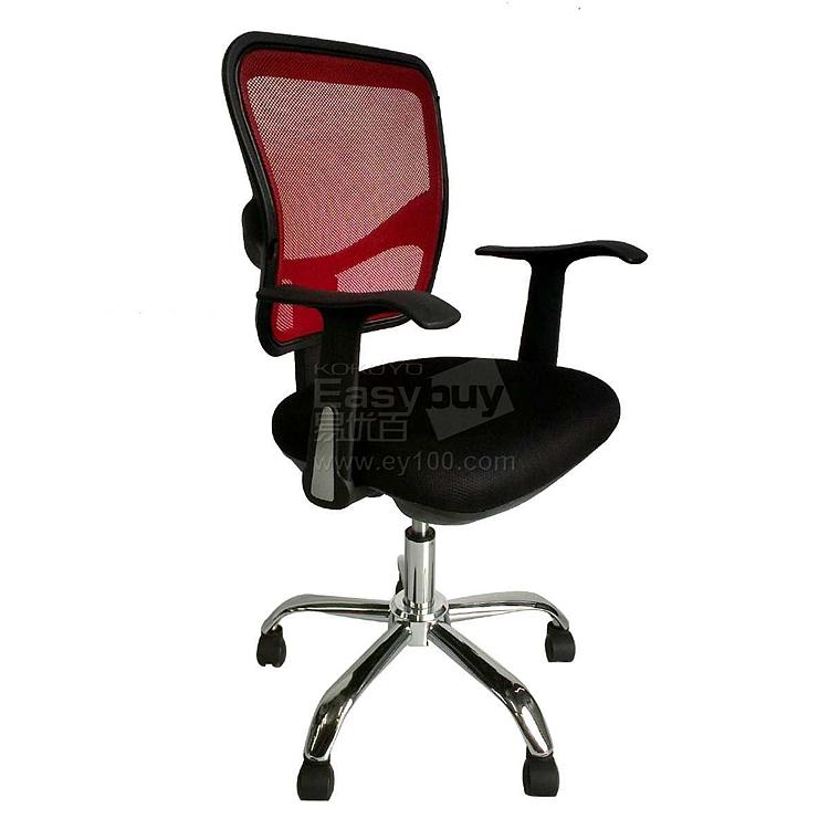 吴俚 办公椅 (红背黑座)  YT-8163B