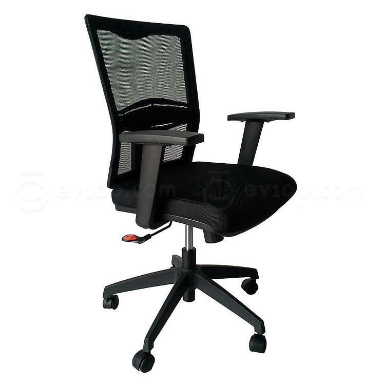 吴俚 办公椅 (黑)  WL-8178B