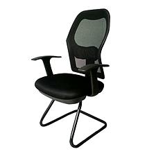 吴俚 会议椅 (黑)  WL-8263C