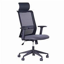国誉 办公椅 (黑) 635*590*1120-1215mm  CCR-G7636DNN