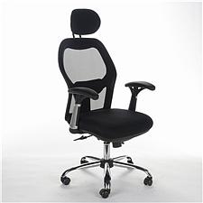 顺发 网布主管椅 (黑)  SH-1033A