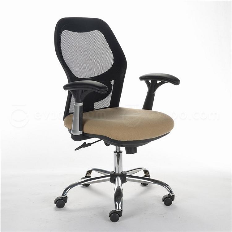 顺发 网布职员椅 (黑)  SH-1033B