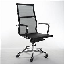 顺发 网布主管椅 (黑)  SH-1406A