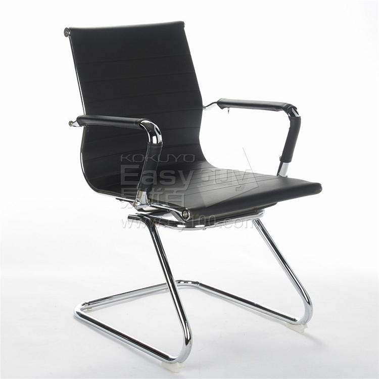 顺发 仿皮会议椅 (黑)  SH1407C