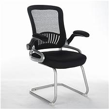 顺发 网布会议椅 (黑)  SH1402C