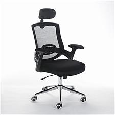顺发 网布主管椅 (黑)  SH1565A